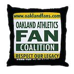 OAFC Throw Pillow