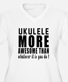 Ukulele More Awes T-Shirt