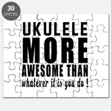 Ukulele More Awesome Instrument Puzzle