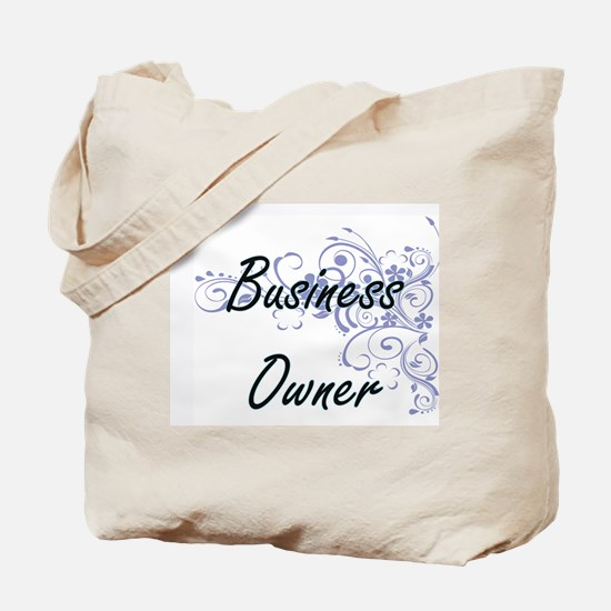 Business Owner Artistic Job Design with F Tote Bag