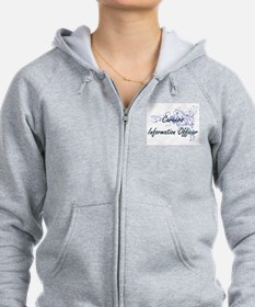Careers Information Officer Art Zip Hoodie