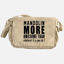 Mandolin More Awesome Instrument Messenger Bag