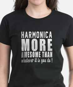 Harmonica More Awesome Instru Tee