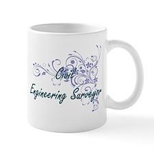 Civil Engineering Surveyor Artistic Job Desig Mugs