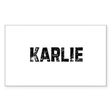 Karlie Rectangle Decal