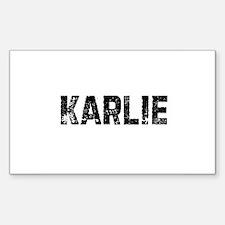 Karlie Rectangle Decal