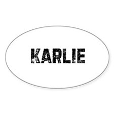 Karlie Oval Decal