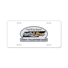 Patch-BeThere-10x10x200 Aluminum License Plate