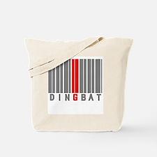 DINGBAT - BARCODE:- Tote Bag