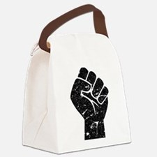 Fist Canvas Lunch Bag