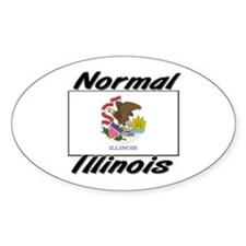 Normal Illinois Oval Decal