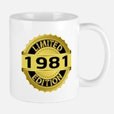 Limited Edition 1981 Mug