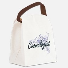 Cosmologist Artistic Job Design w Canvas Lunch Bag