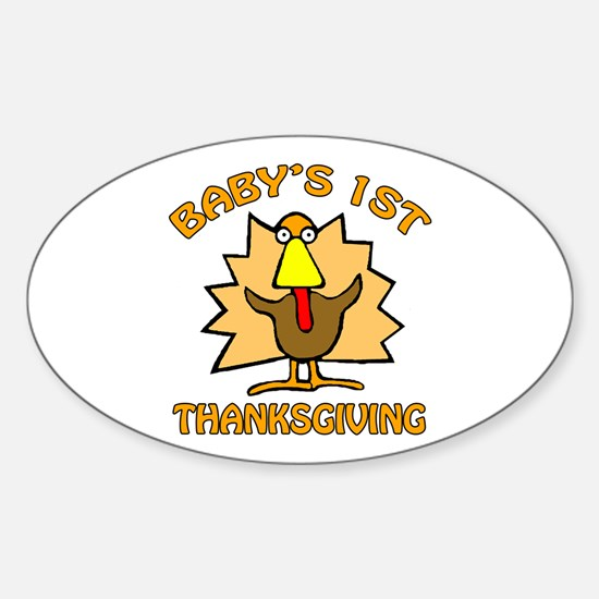 Thanksgiving Oval Decal