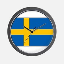 Sweden - Swedish Flag Wall Clock