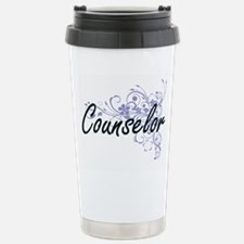 Counselor Artistic Job Stainless Steel Travel Mug