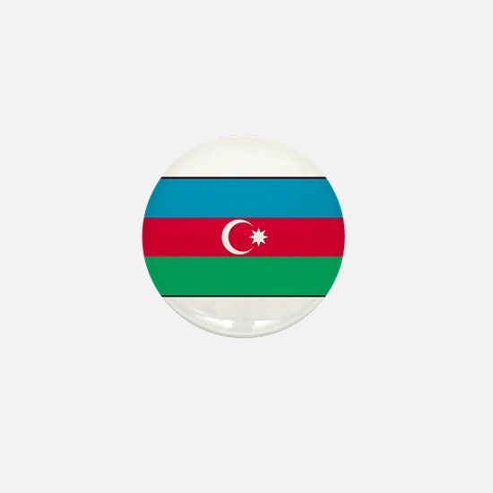 Azerbaijan - Azerbaijani National Flag Mini Button