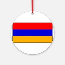 Armenia - Armenian National Flag Round Ornament