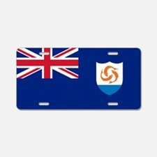 Anguilla - Anguillian Flag Aluminum License Plate