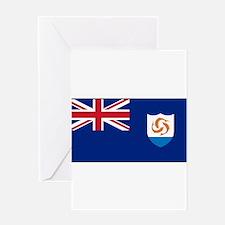 Anguilla - Anguillian Flag Greeting Cards