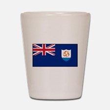 Anguilla - Anguillian Flag Shot Glass