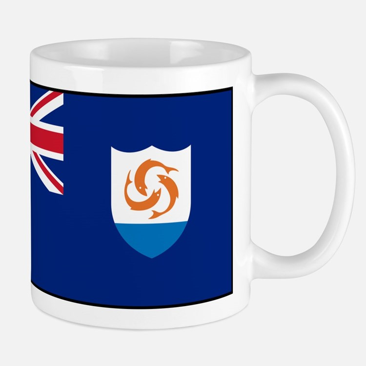 Anguilla - Anguillian Flag Mugs