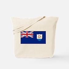 Anguilla - Anguillian Flag Tote Bag
