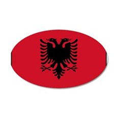 Albania - Albanian Flag Wall Sticker
