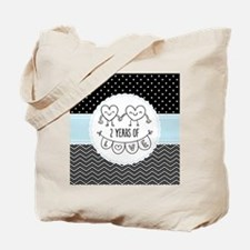 2nd Anniversary Gift For Her Tote Bag
