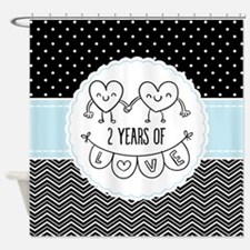 2nd Anniversary Gift For Her Shower Curtain