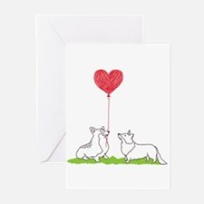Cute Corgi Greeting Cards (Pk of 20)
