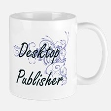 Desktop Publisher Artistic Job Design with Fl Mugs