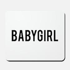 Babygirl Mousepad
