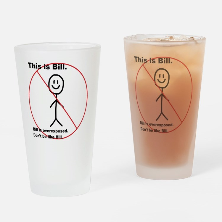 Cute Tmi Drinking Glass