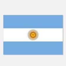 Argentina - Argentine Flag Postcards (Package of 8