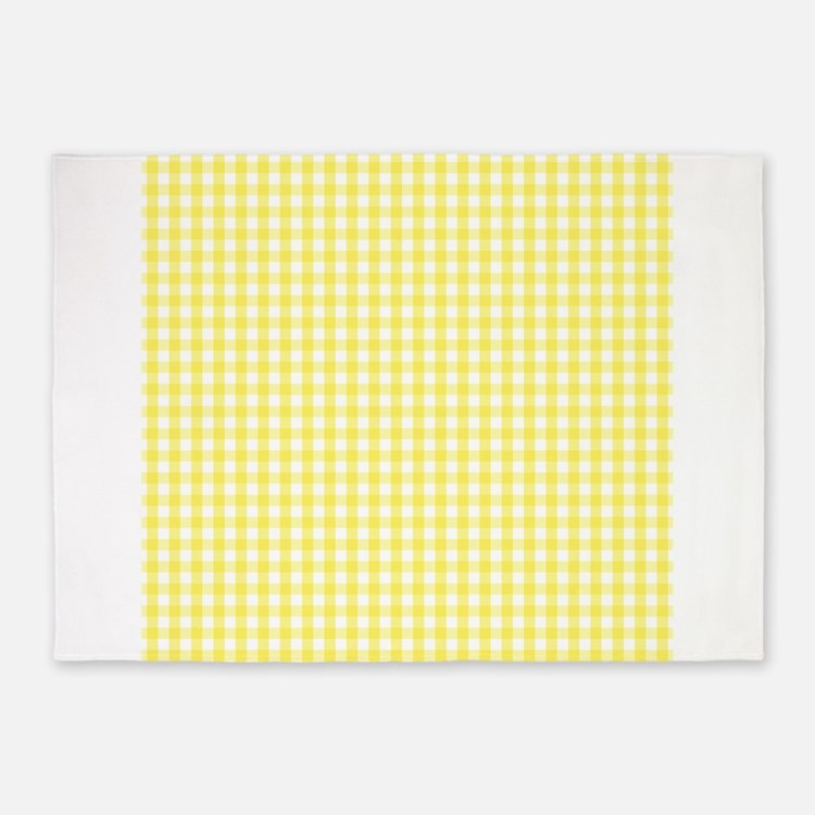 Yellow Checkered Rug: Yellow Gingham Rugs, Yellow Gingham Area Rugs