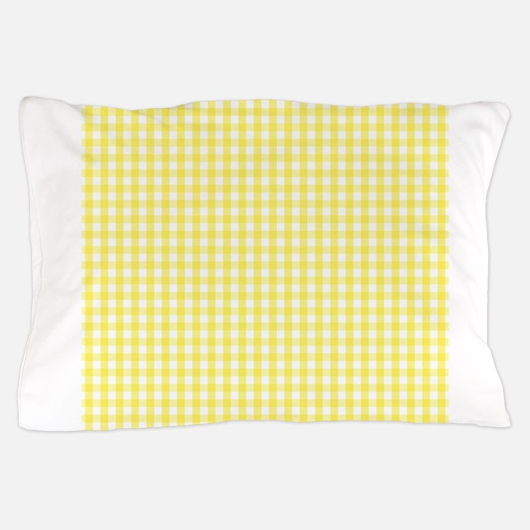 Yellow Checkered Rug: Yellow Gingham Duvet Covers