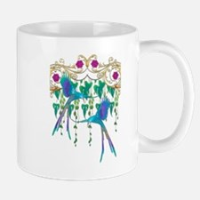 Blue Quetzal Birds Mugs