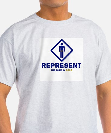 Represent Blue and Gold T-Shirt