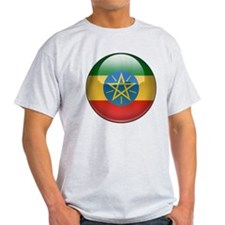 Ethiopia Flag Jewel T-Shirt