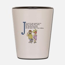 Jack and Jill Shot Glass