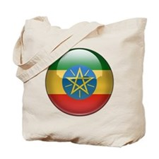 Ethiopia Flag Jewel Tote Bag