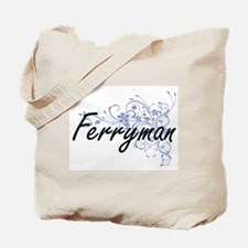 Cute Ferries Tote Bag