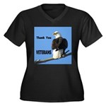 Thanks Veterans Plus Size T-Shirt