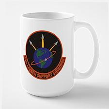 45th Launch Support Sqdrn Crest Large Mug Mugs