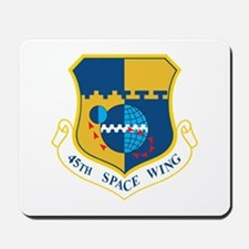 45th Space Wing Crest Mousepad