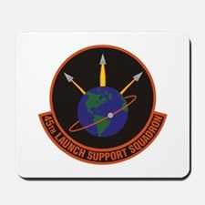 45th Launch Support Sqdrn Crest Mousepad