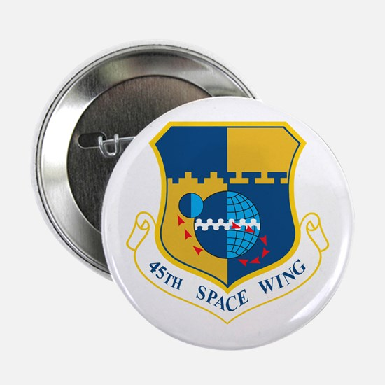 "45th Space Wing Crest 2.25"" Button"