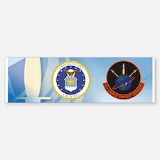45th Launch Support Sqdrn Crest Sticker (Bumper)