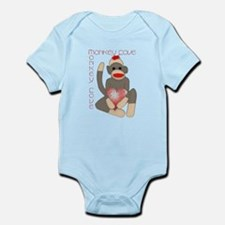 Cool Sockmonkey Infant Bodysuit